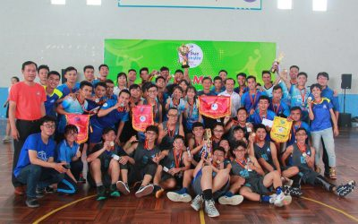 HCMUT WON THE FIRST PRIZE IN 2019 SPORT FESTIVAL FOR STUDENTS