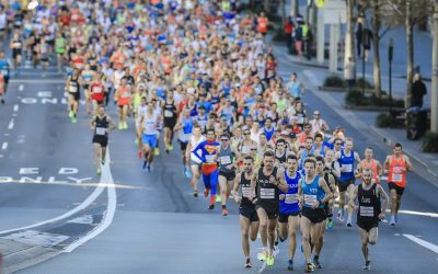 UTS STUDENTS PARTICIPATE IN CITY2SURF 2019 TRACK
