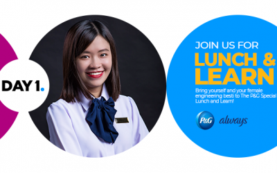 P&G Female Engineers 1+1 – Besties' Lunch and Learn