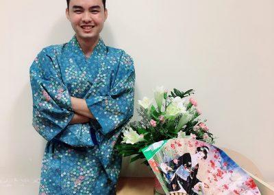 Sinh viên VJEP trong trang phục truyền thống Nhật Bản (1)