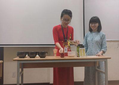 Tiết học văn hóa - Trà đạo Nhật Bản
