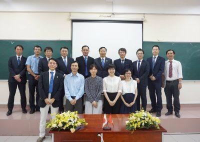 BGĐ OISPcùng tập đoàn Japan Create và các giảng viên VJEP
