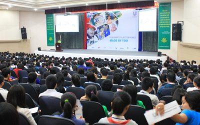 """Hơn 1000 sinh viên tham dự chương trình  """"LEADERSHIP TALK WITH UNILEVER – REAL PEOPLE, REAL STORIES"""""""