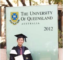 Sinh viên Chương trình liên kết tốt nghiệp tại Đại học Queensland