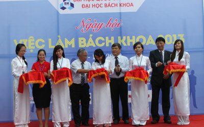 Hơn 3.000 SV tham gia Ngày hội Việc làm Bách khoa 2013