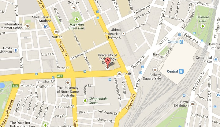 uts map