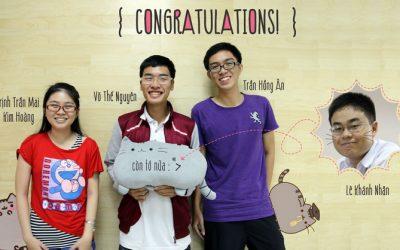 Bốn sinh viên BK-OISP nhận học bổng ĐH Công nghệ Toyohashi