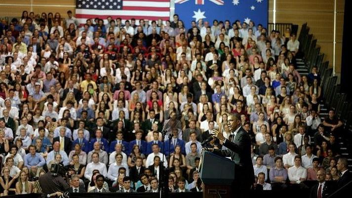 Obama-at-UQ 01