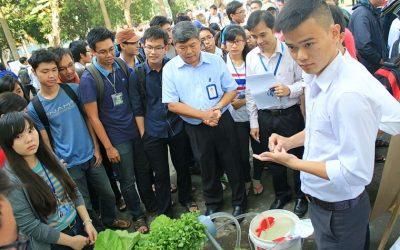 Sinh viên Hóa học thỏa sức sáng tạo trong Ngày hội Kỹ thuật