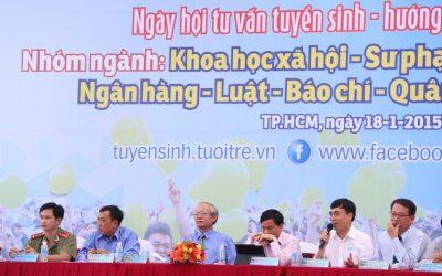 Trường ĐH Bách Khoa TP.HCM tư vấn tuyển sinh tại Cần Thơ
