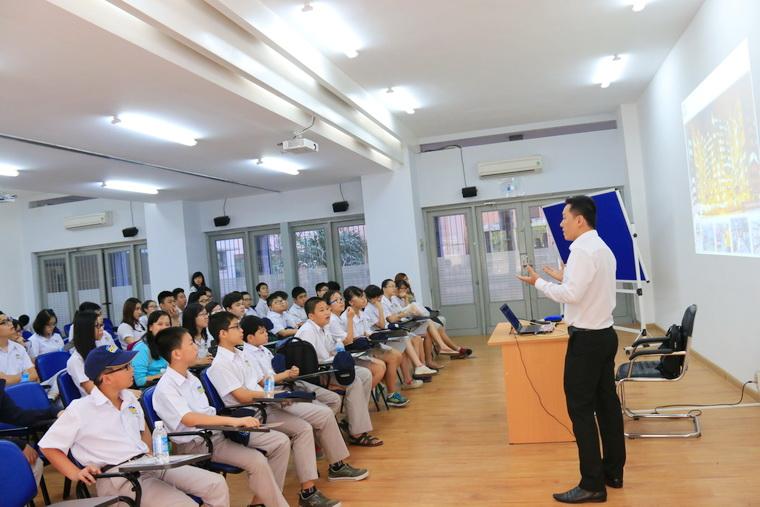 THPT Thai Binh Duong tham quan OISP 01