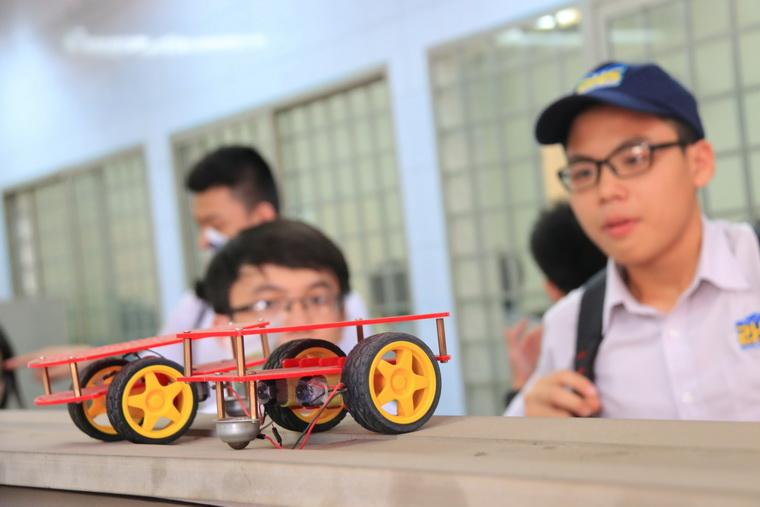THPT Thai Binh Duong tham quan OISP 18