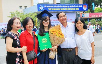 Rộn ràng lễ tốt nghiệp khóa 2010 của Trường ĐH Bách Khoa TP.HCM
