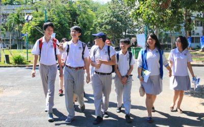 BK-OISP tiếp đoàn học sinh Pacific High School