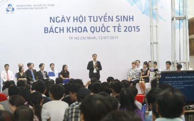 Tưng bừng Ngày hội Tuyển sinh Bách Khoa Quốc tế 2015