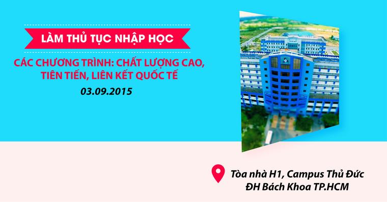 Huong dan thu tuc nhap hoc DHBK 2015