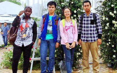 Dạo Sài Gòn cùng SV quốc tế của ĐH Bách Khoa TP.HCM