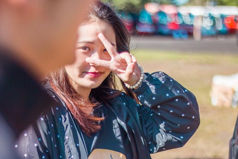 Nguyen Ngoc Thao My SV K14 Truong nhom Nhay Clb Van nghe OISP BOMB 01