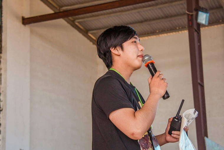 Le Tuan 02 phat dong OISP Camp 2015