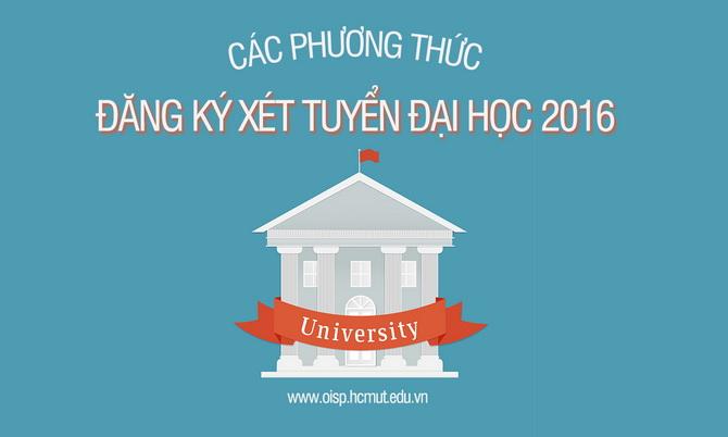 Cac phuong thuc dang ky xet tuyen 2016