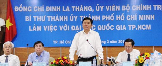 Dinh La Thang DHQG HCM 01