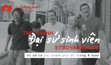 """Cơ hội thành đại sứ du học Úc cho """"teen"""" Việt"""