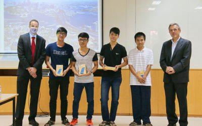 4 sinh viên BK-OISP nhận giải thưởng từ UTS