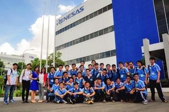 Sinh viên BK-OISP tham quan Công ty Renesas và Trạm Biến áp Tao Đàn