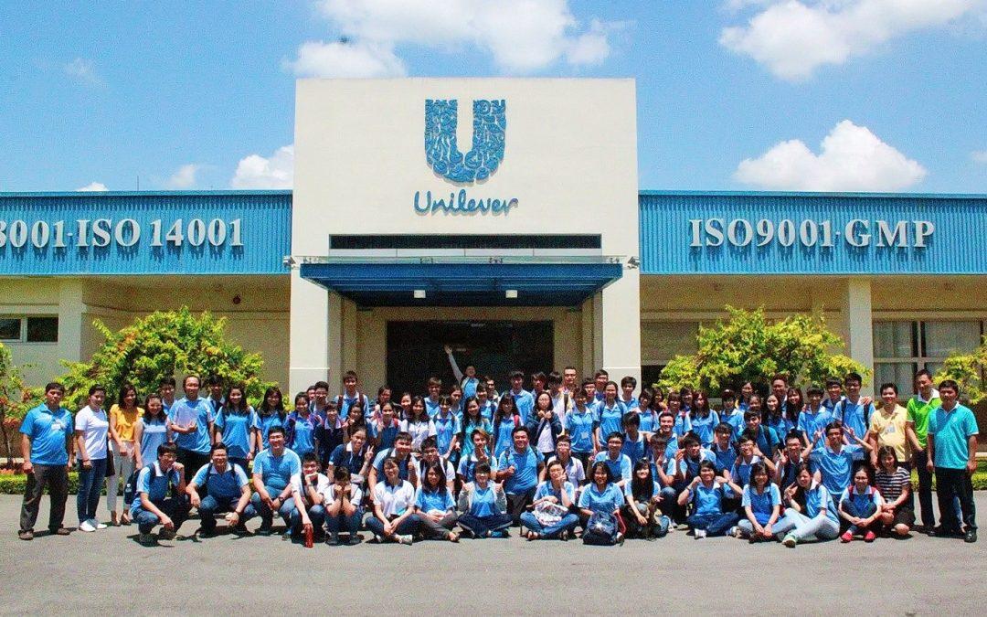 Sinh viên BK-OISP tham quan Unilever Việt Nam