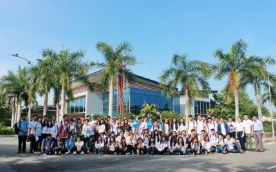 SV BK-OISP tham quan khu nhà xưởng dịch vụ Kizuna