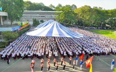 Tưng bừng lễ khai giảng ĐH Bách Khoa 2016