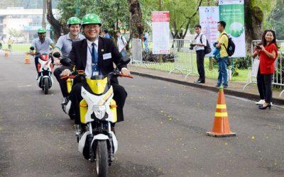 Khánh thành hệ thống xe gắn máy điện cộng đồng tại ĐH Bách Khoa
