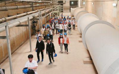 SV BK-OISP kiến tập tại Nhà máy Xử lý nước thải Bình Hưng