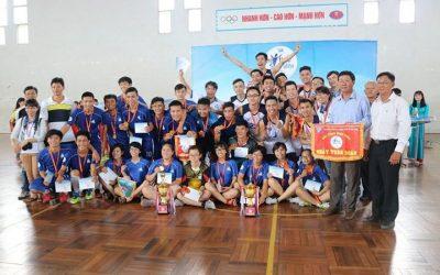 Bách Khoa đạt hạng Nhất toàn đoàn Hội thao SV ĐHQG-HCM 2017