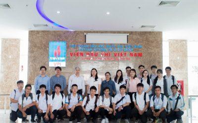 SV Bách Khoa Quốc Tế tham quan Viện Dầu khí TP.HCM