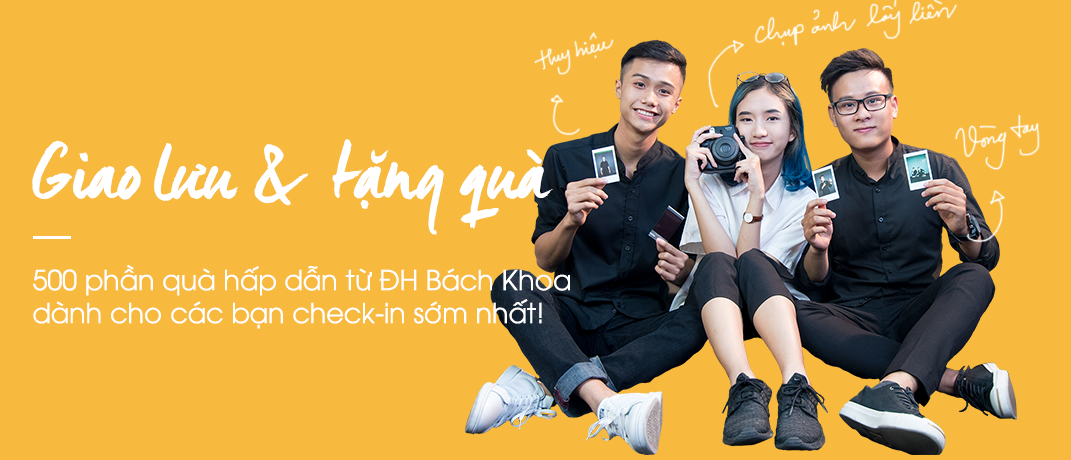 Ngay hoi Tuyen sinh Bach Khoa Quoc te 2017 02
