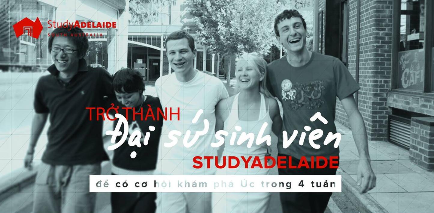 StudyAdelaide Vietnam 2017 banner