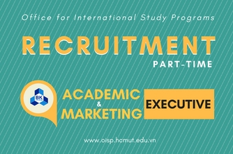 (Part-time) Academic & International Marketing Executive