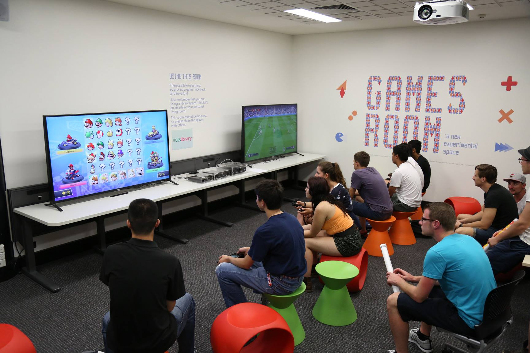 UTS library game room