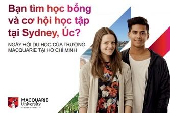 Ngày hội Du học Đại học Macquarie (Úc) tại TP.HCM