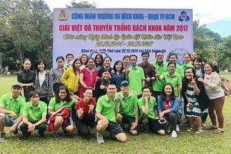 OISP đoạt 3 giải Nhất Giải Việt dã truyền thống Bách Khoa 2017
