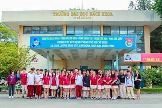 Trường Quốc tế Việt Úc tham quan Đại học Bách Khoa