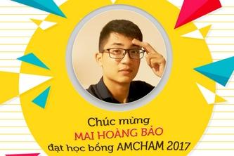 Sinh viên Bách Khoa Quốc Tế đạt học bổng AmCham 2017