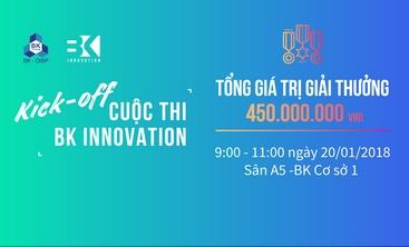 Đại học Bách Khoa khởi động cuộc thi Bach Khoa Innovation 2018