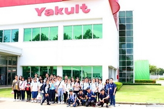 Khám phá nhà máy sữa chua Yakult