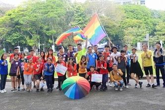SV Bách khoa chạy bộ ủng hộ hôn nhân bình đẳng giới