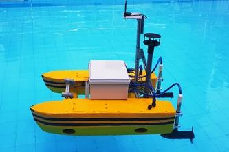 Thuyền không người lái của SV Bách khoa