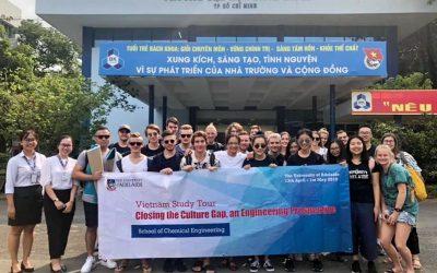 SV Adelaide trao đổi học tập tại ĐH Bách khoa