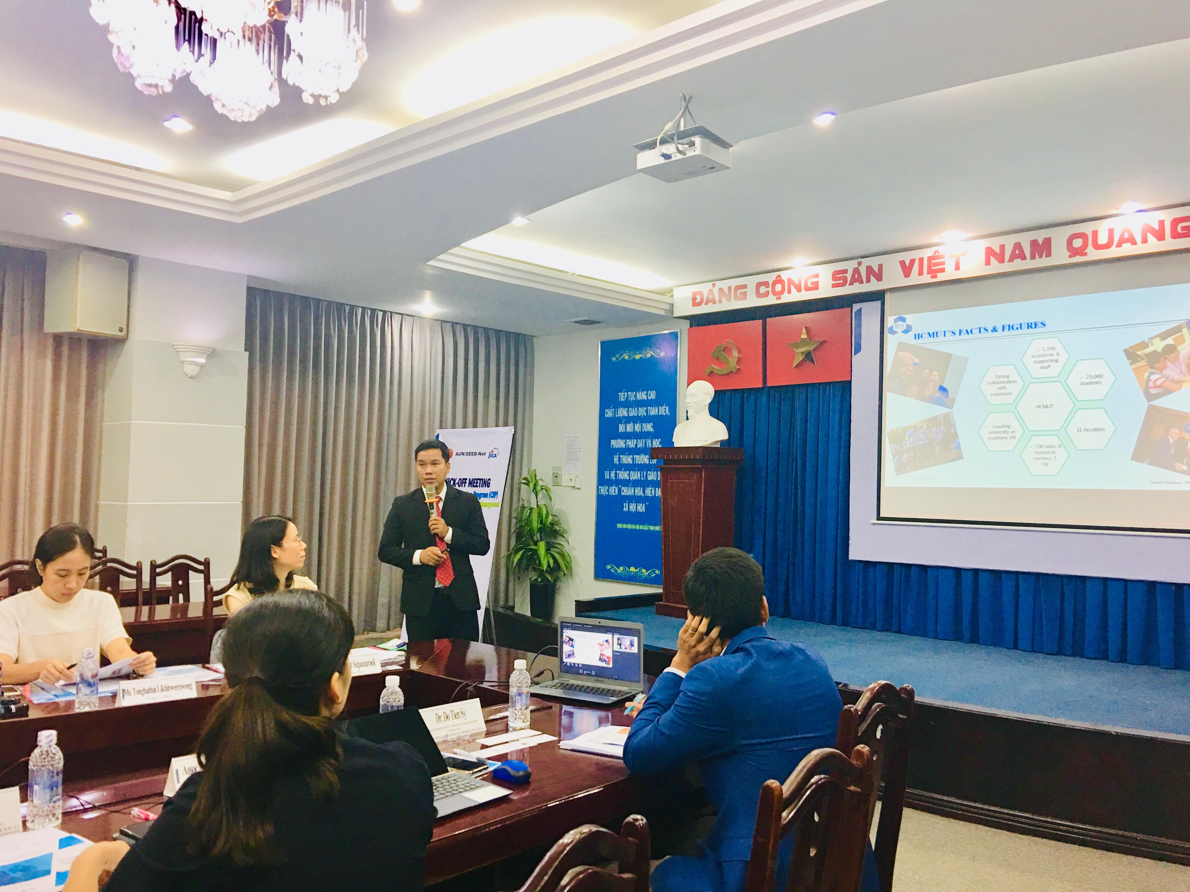 HCMUT presentation CEP Kick off meeting HCMUT Bach khoa YNU YTU JFE