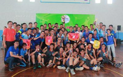 Trường ĐH Bách khoa đoạt giải I toàn đoàn Hội thao SV ĐHQG-HCM 2019